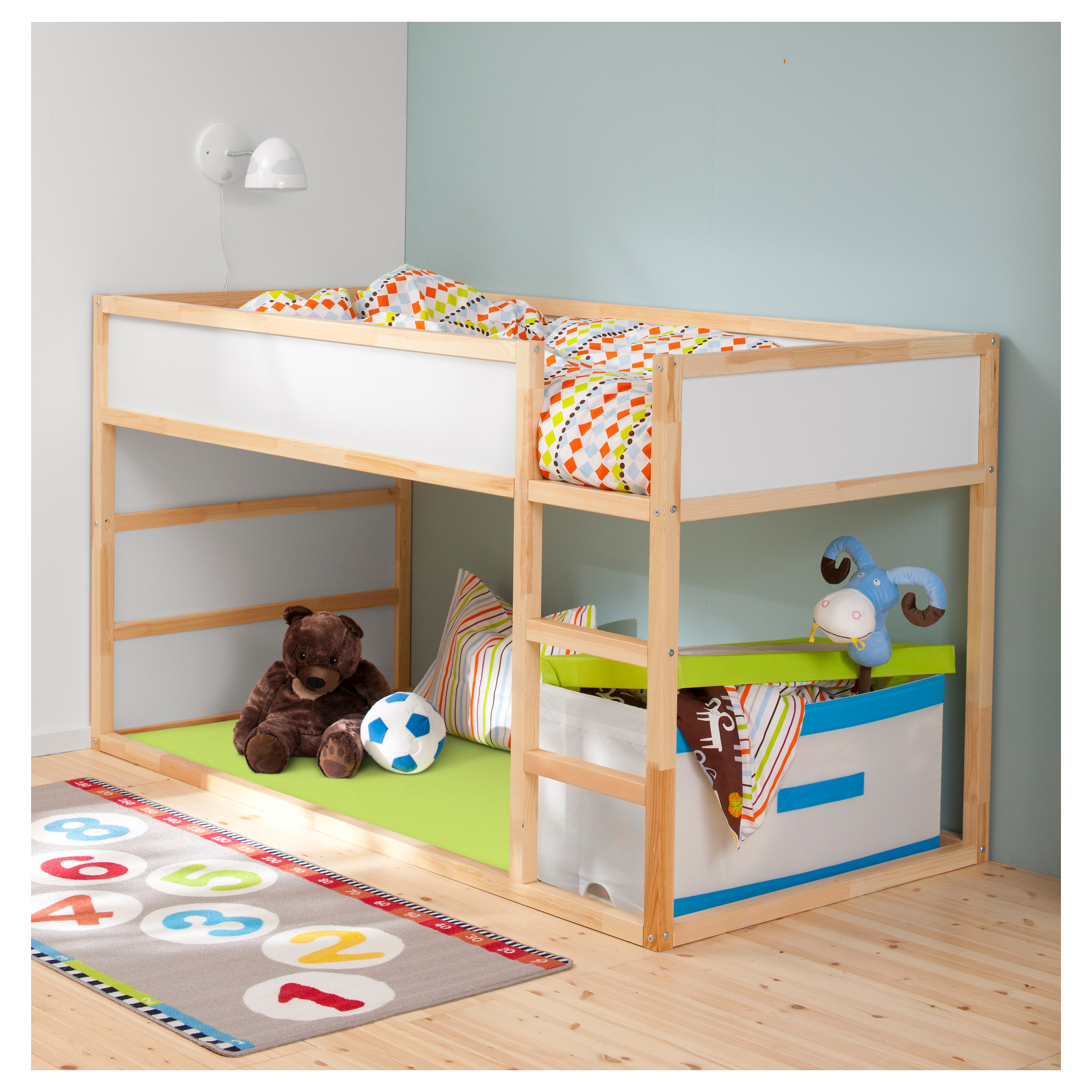 bunk beds for kids kura reversible bed - ikea VCOEZRS