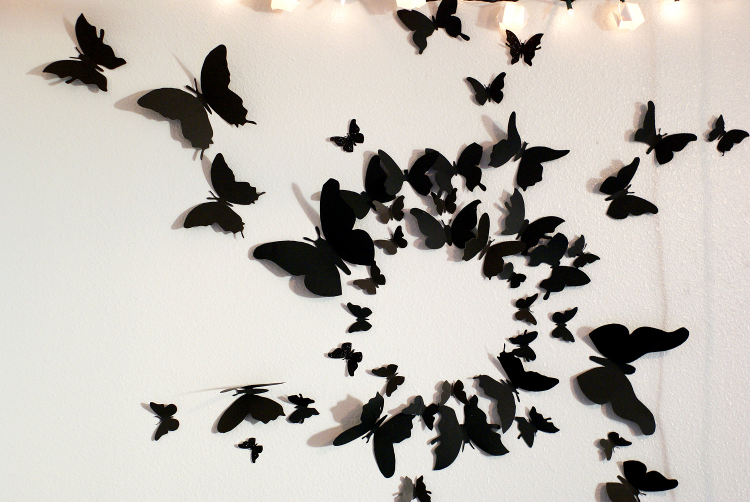butterfly wall decor 🔎zoom YLXTUCO
