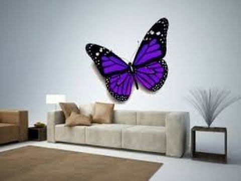 butterfly wall decor | 3d butterfly wall decor | butterfly wall decor ideas NQMBEDY