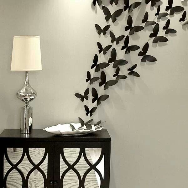 butterfly wall decor set RJBGWVE