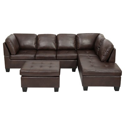 canterbury 3-piece sectional sofa set - christopher knight home ICNIMCO
