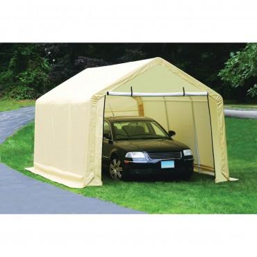 car canopy 10 ft. x 17 ft. portable garage RRHWDPZ
