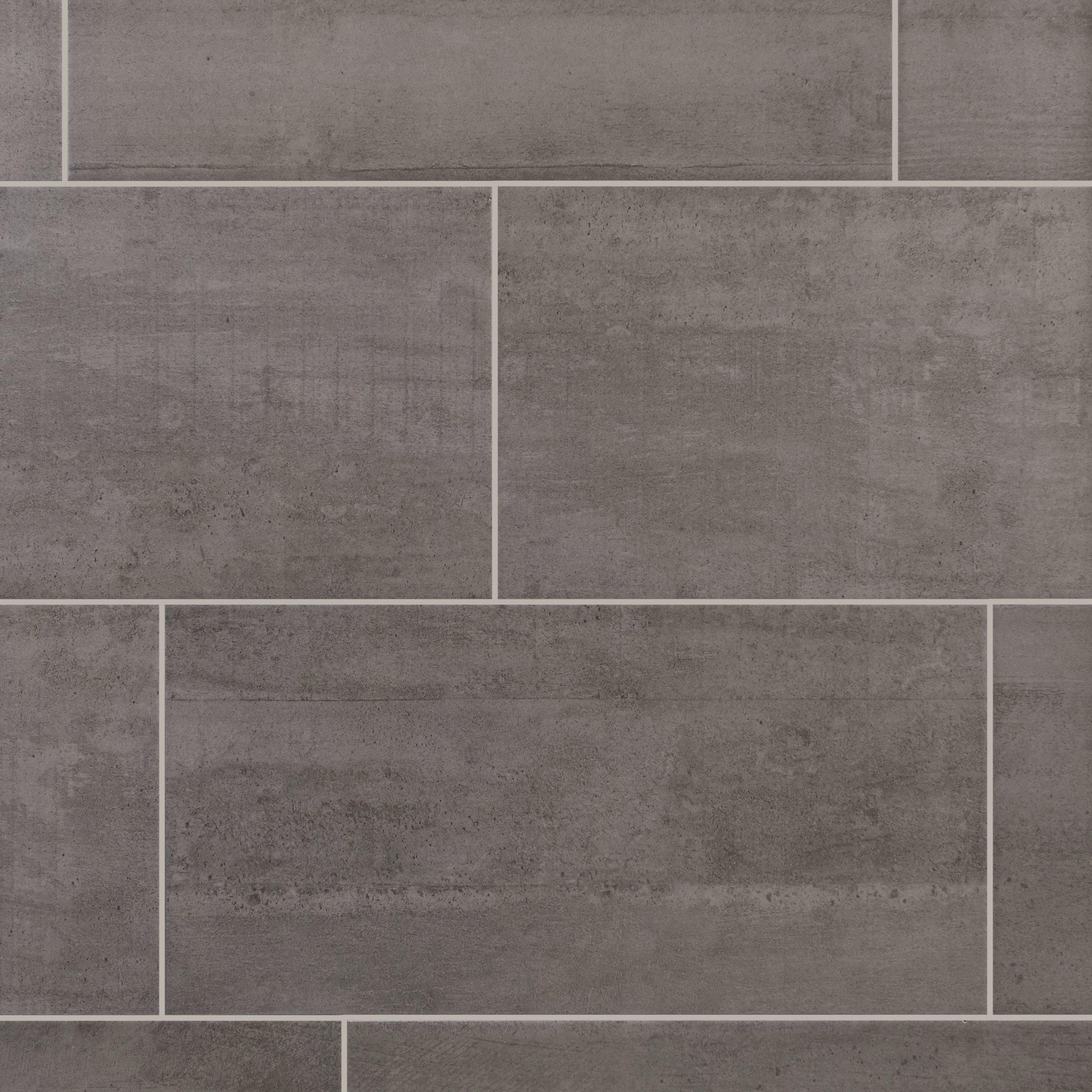 Tips for choosing ceramic tile flooring goodworksfurniture ceramic tile flooring concrete gray ceramic tile 12in x 24in 100136795 dailygadgetfo Gallery