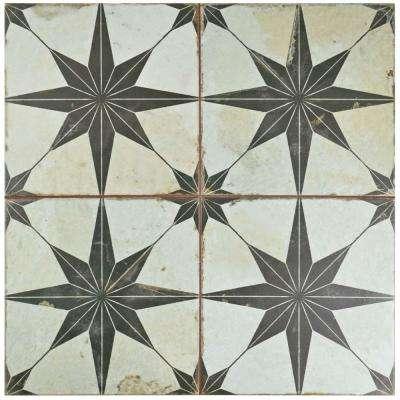 ceramic tile flooring kings star nero 17-5/8 in. x 17-5/8 FHILVVM