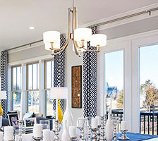 chandelier-style dining room lighting YPEOIBZ