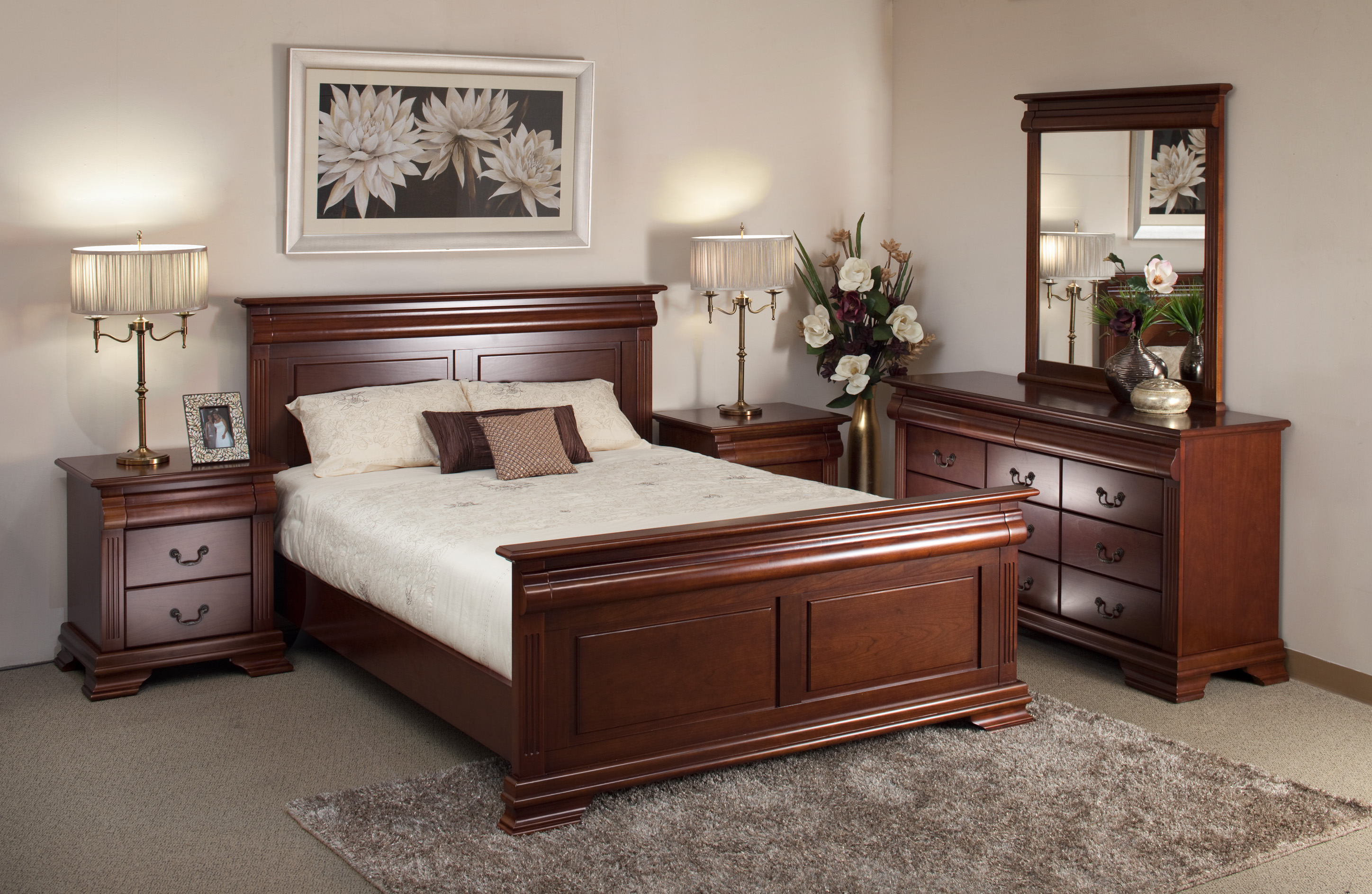 chantelle 4 piece qs bedroom suite AAIOGXV