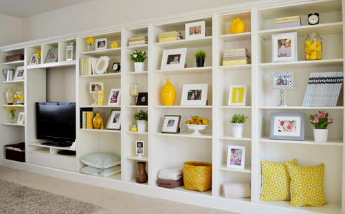 Shelving Ideas for Smart organizing at Home
