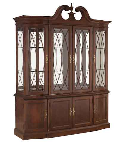 china cabinets american drew cherry grove china cabinet BIYDRNI
