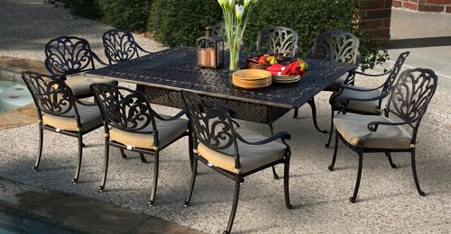 choosing the best aluminum patio furniture for your home -  bestartisticinteriors.com QREKHSB