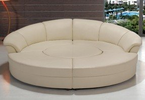 circular sofa modern black or white circle sectional sofa by contemporaryplan LWUJKWW