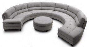 circular sofa pavoncello rotunda, 3-piece round sectional contemporary sectional sofas NMDFYKO