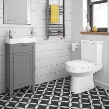cloakroom suites cesar iii toilet u0026 440mm melbourne floor standing cloakroom vanity unit - MFQJUPH