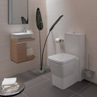 cloakroom suites the twyford vello cloakroom suite is so stylish VKNXYGR