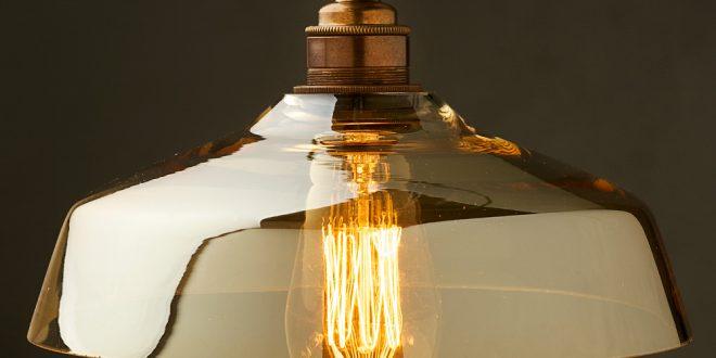 coffee glass light shade e27 pendant QNDLUBG