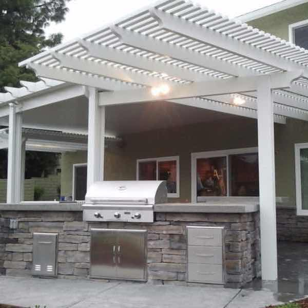 combination and bi-level patio covers XPPZAXD