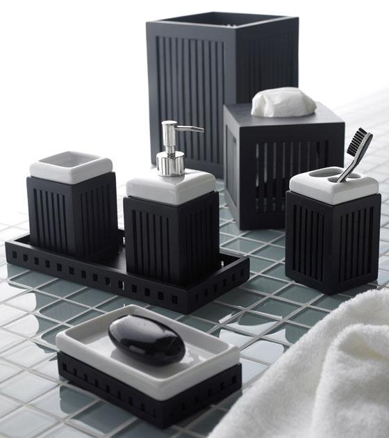 Black bathroom accessories: Stylish And Innovative