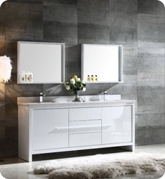 contemporary bathroom vanities fresca fvn8172wh allier 72 TPANZUY
