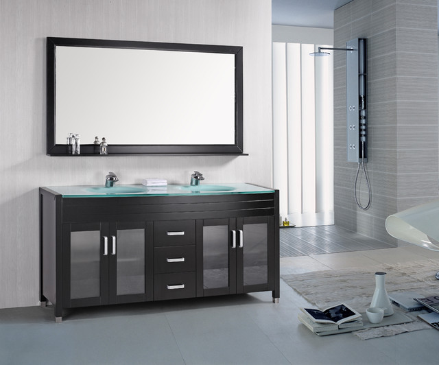 contemporary bathroom vanities images HAUFQYP