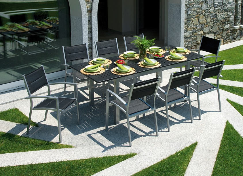 contemporary garden furniture outdoor furniture, garden table u0026 chairs set HANWIQK