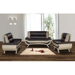 contemporary living room furniture berkeley heights 3 piece living room set VAMGQPT