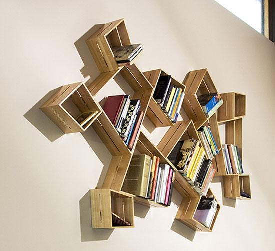 cool bookshelves bookshelf29 cool and unique bookshelves designs for inspiration SCKJWPJ