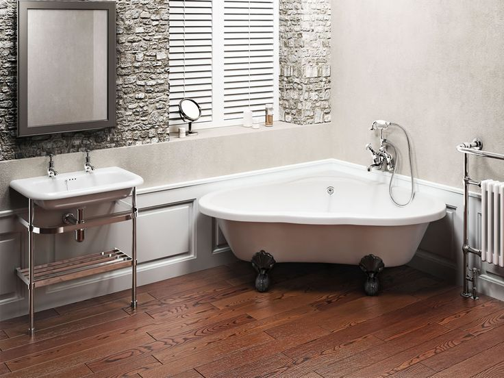 Decorating Your Bathroom With Corner Baths Goodworksfurniture