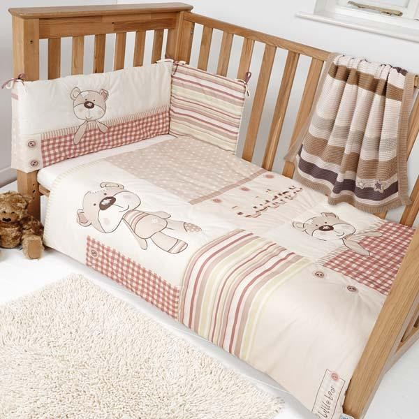 cot bedding sets clair de lune little bear 2 piece cot bed quilt u0026 bumper bedding TIOAADK