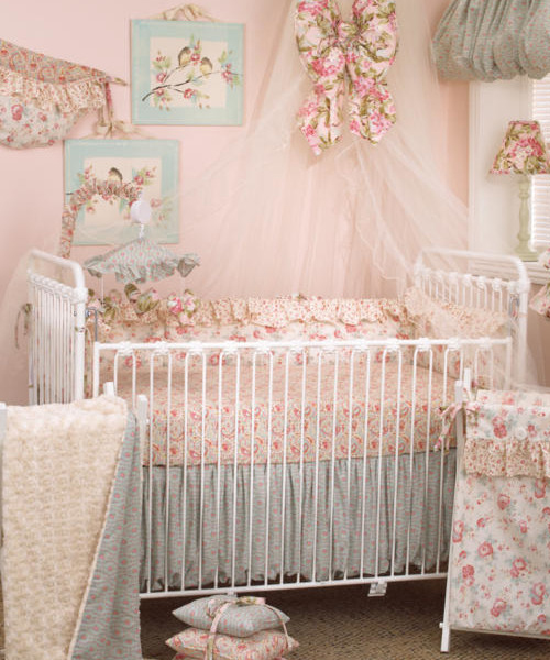 cotton tale baby girl bedding BCLYVOR