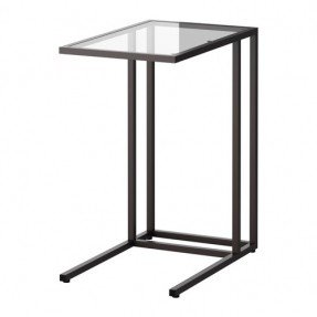 Couch Table Vittsjö Laptop Support Ikea Made Of Tempered Glass And Metal  OESAPRW