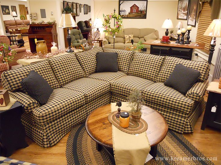 Bon Country Sectional Sofa, A Country Furniture Favorite In South Central  Pennsylvania. NWMFBSA
