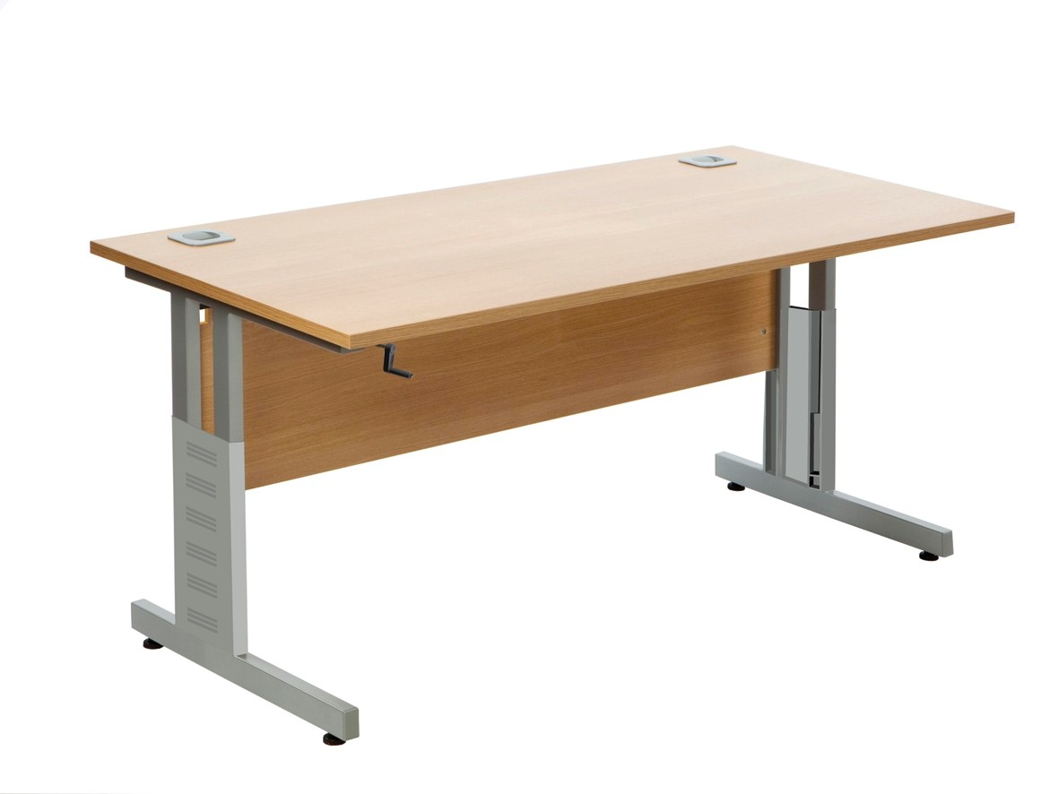 crank handle height adjustable desk DGJSBPF