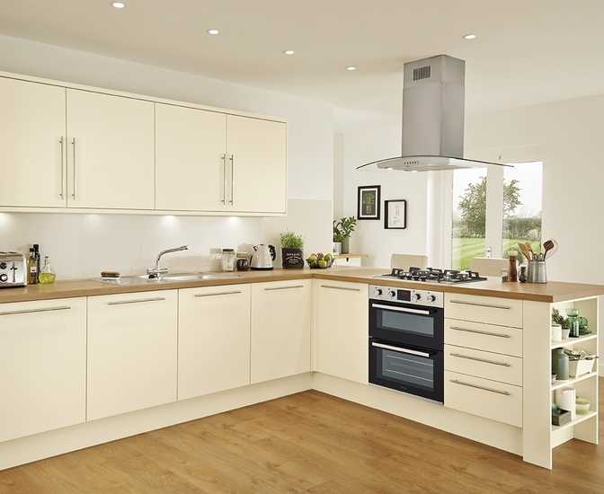 cream kitchens stockbridge super matt cream TIBPFSH
