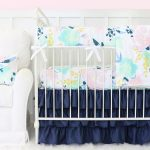Pretty fairy tale crib bedding for girl baby