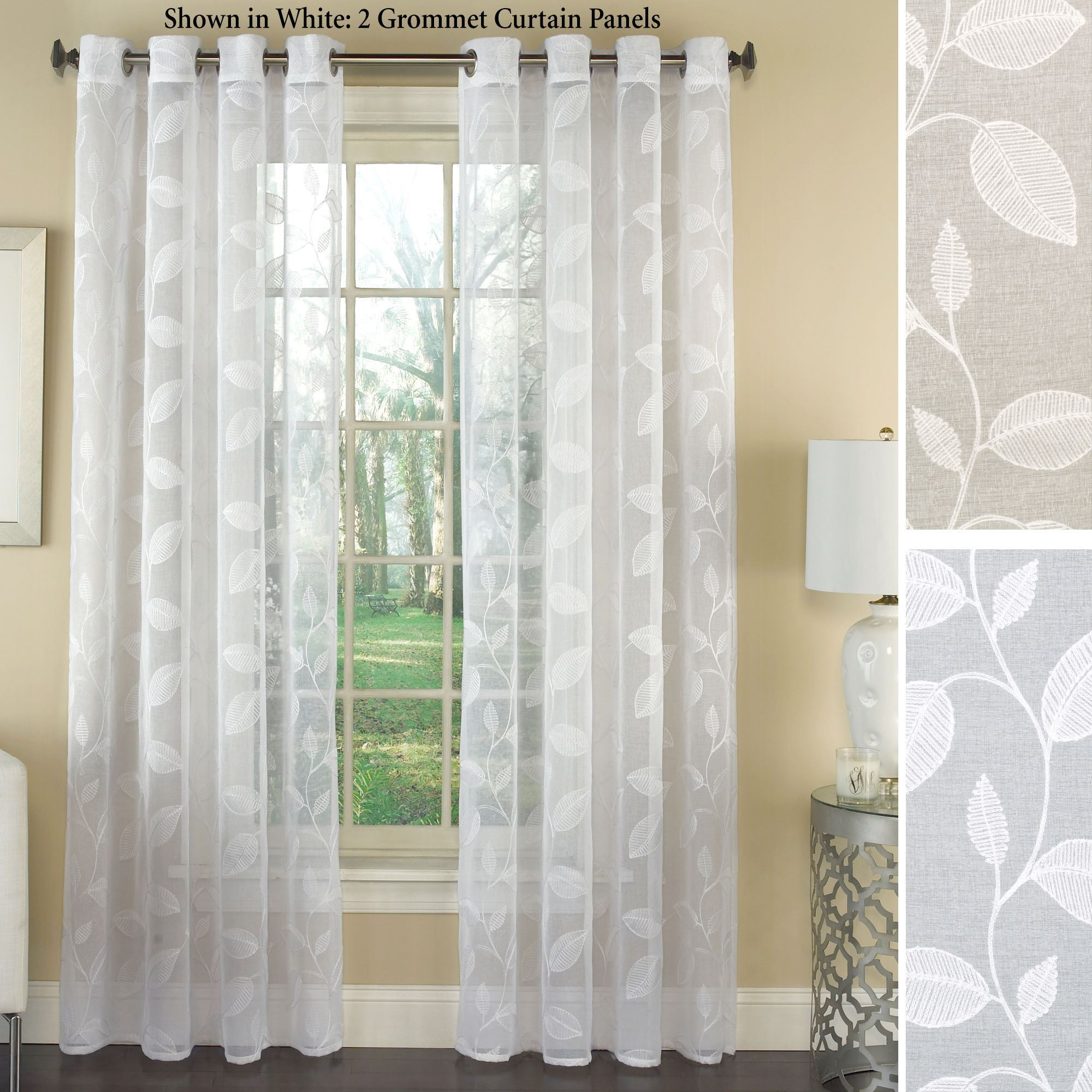 curtain panels avery grommet curtain panel. click to expand QPBIVYL