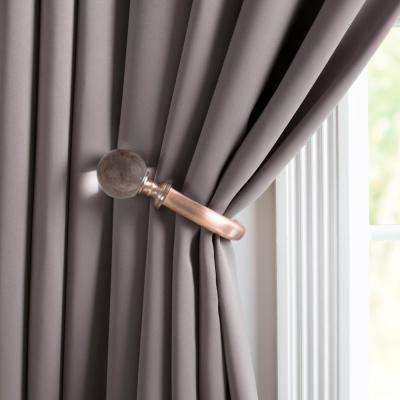 Make Your Room Elegant By Simple Curtain Tie Backs