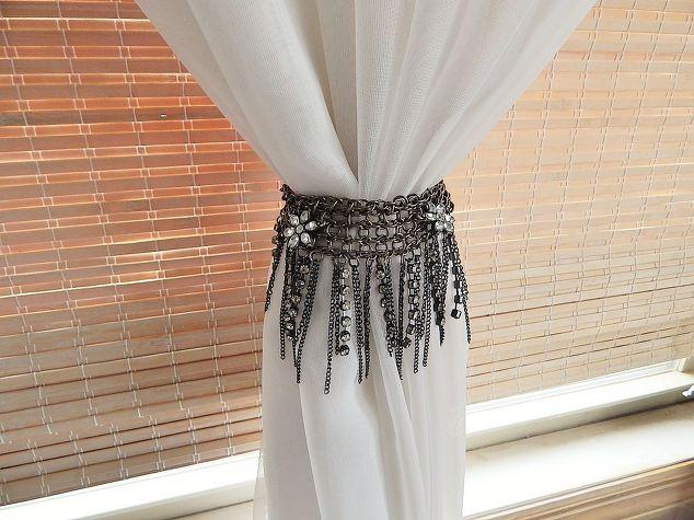 curtain tie backs necklace to curtain tie back RZHQZJB