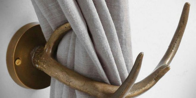 curtain tie backs the antler curtain tiebacks are a set of artificial deer antlers that are TYEWQJI