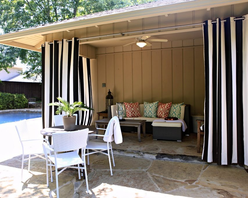 curtains: 52 outdoor patio curtains hanging outdoor curtains the polkadot  intended for UKAHQFG