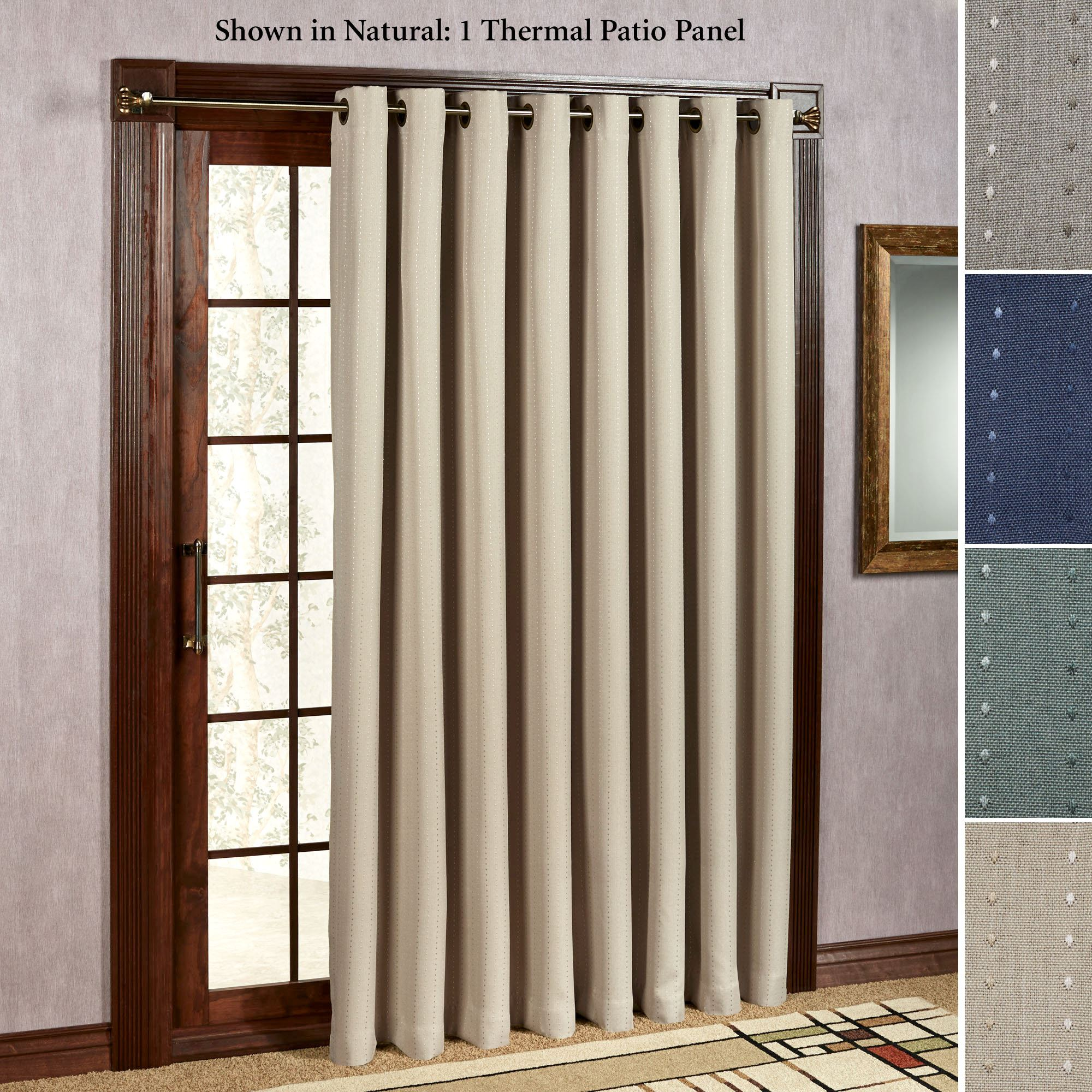 curtains for sliding glass doors grand pointe grommet patio curtain panel 110 x 84 UGHULWK