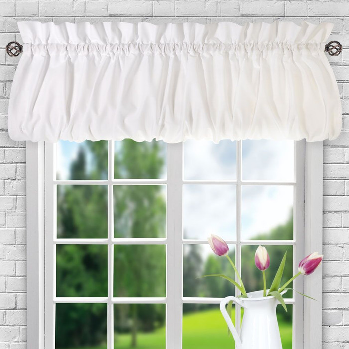 curtains with valance casarina 60 BYLUPTY
