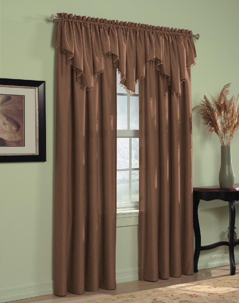 curtains with valance loading zoom TZKEZZA