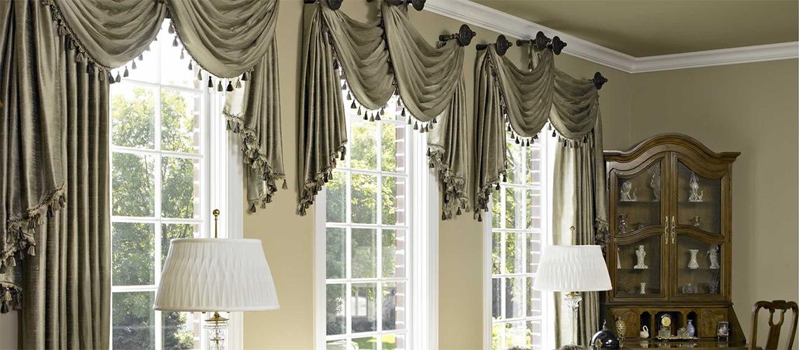 custom curtains custom window treatments OEZSLSB