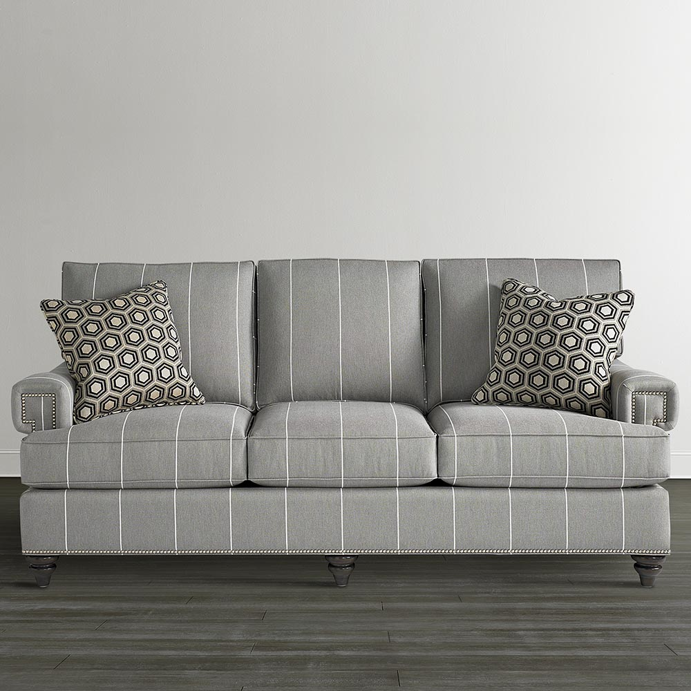 custom sofa - townhouse collection | bassett furniture JATWTAO