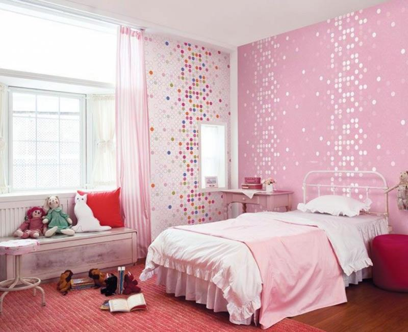 cute pink bedroom design ideas VNPFNNG