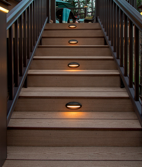 decking lights timbertech deck riser lights - view 2 KTOYJRF