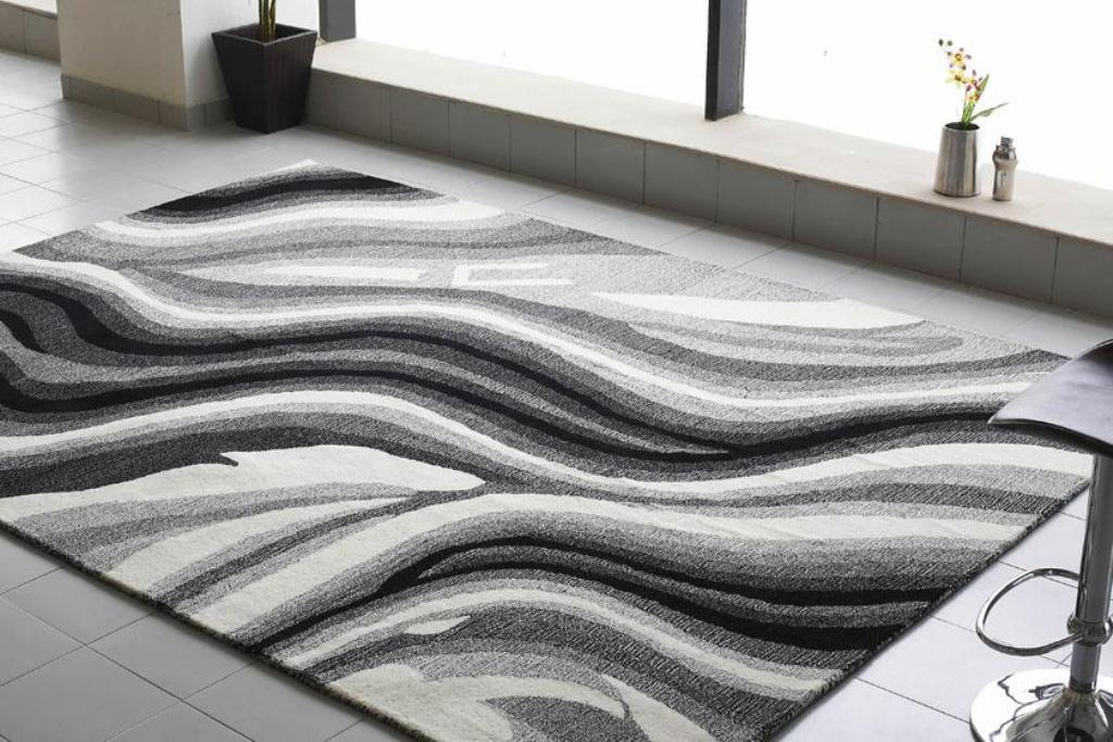 decorate your living room with modern rugs YKYMTEL