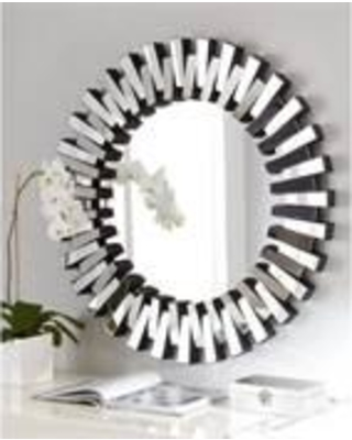 decorative wall mirrors afina ml-36-r modern luxe 36 FPZTHKC