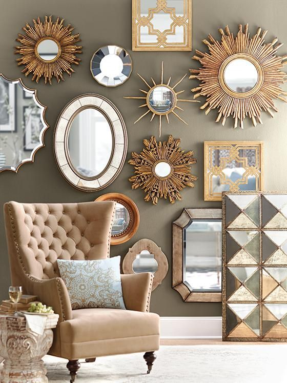 decorative wall mirrors how to re-decorate and refresh a room without spending a lot of money FZFLVSU