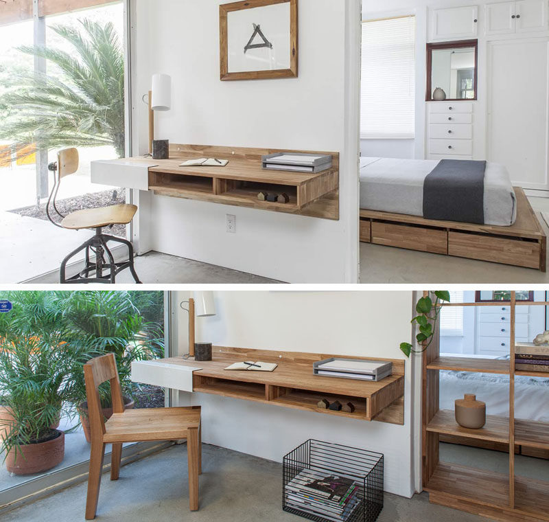 desks for small spaces 16 wall desk ideas that are great for small spaces // three cubbies JGLLUTT