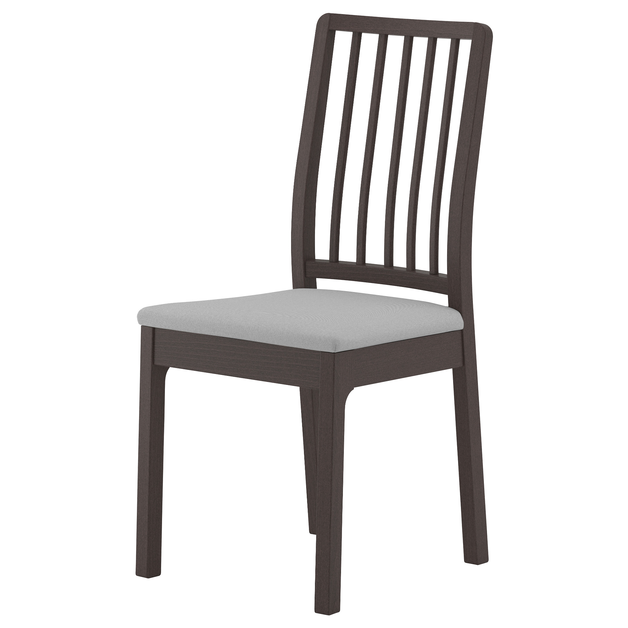 dining chairs ekedalen chair, dark brown, orrsta light gray tested for: 243 lb width: EPFCFHV